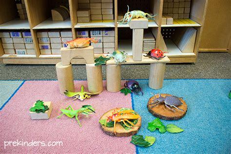 block center play ideas in preschool prekinders 321 | insects block center