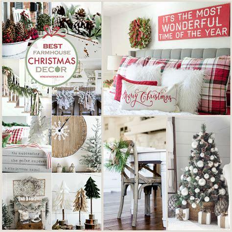 farmhouse christmas decor ideas   avenue