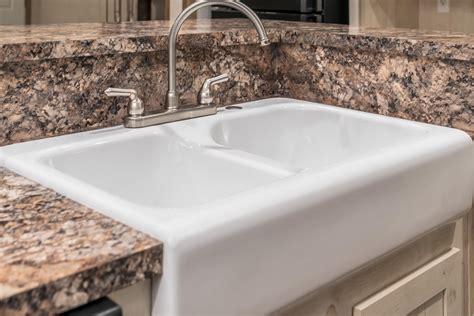 foundation kitchen sink manufactured homes home 1049