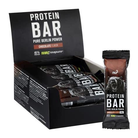 nu protein riegel  protein creatin nu