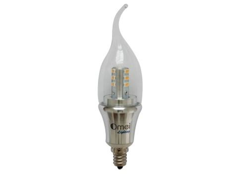 dimmable 6 pack omailighting e12 6w led e12 candelabra