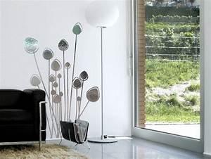 Stickers Effet Miroir : sticker mural herbe folle miroir stickers design ~ Teatrodelosmanantiales.com Idées de Décoration