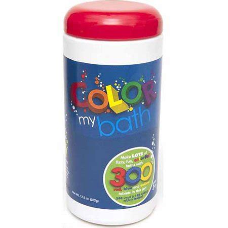 color my bath color my bath color changing bath tablets 300 count