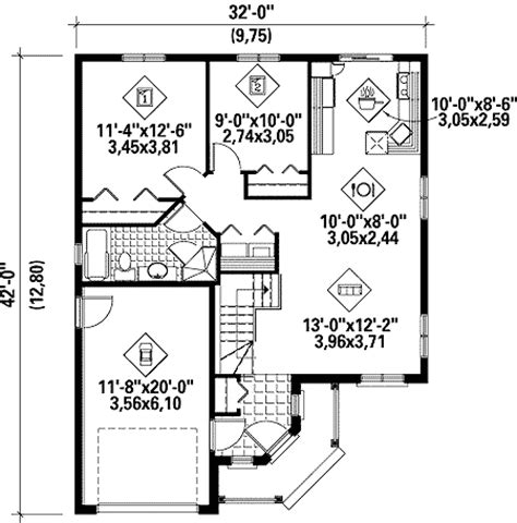 simple  story home plan pm architectural designs house plans