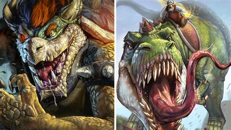 Deviantart Artist Has A Different Notion Of Bowser Yoshi