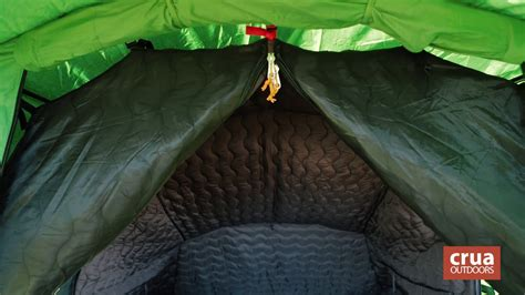 insulated tents weather