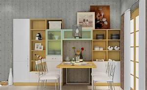 dining room table and cabinet dining room decor ideas With kitchen cabinets lowes with contemporary dining room wall art