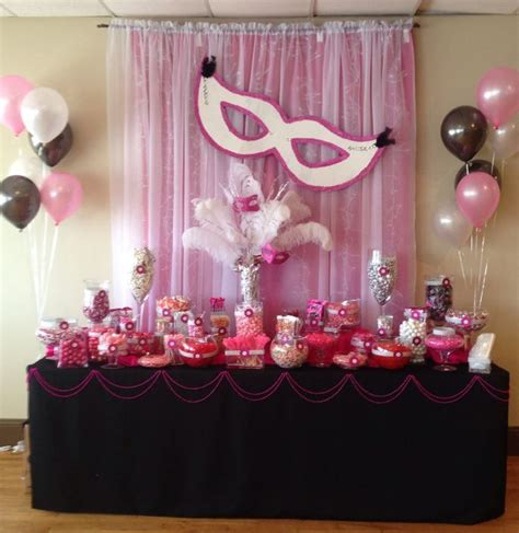sweet sixteen decorations best 25 sweet 16 masquerade ideas on