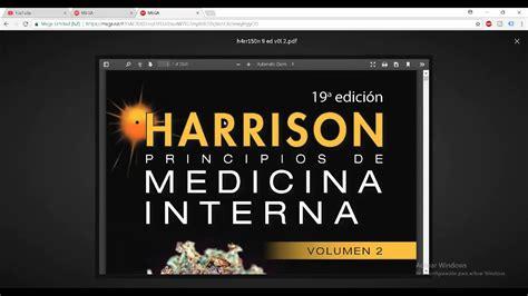 Harrison Medicina Interna Ebook - harrison 19 ed principios de medicina interna true pdf