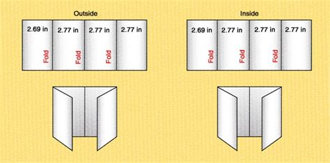 Parallel Fold Brochure Template Templates Parallel Fold Brochure Template 85 X 14 Brochure Template