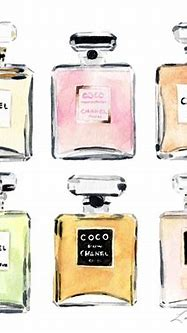 Chanel Perfumes Collage by Laura Row
