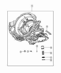 2015 Dodge Journey Plug  Transmission Case