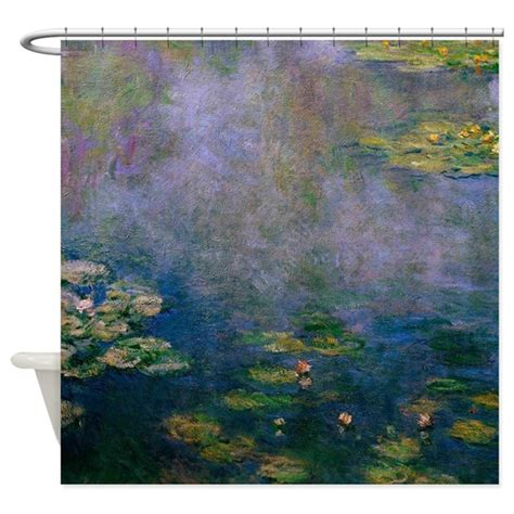 Waterlilies By Monet Shower Curtain By Fineartdesigns