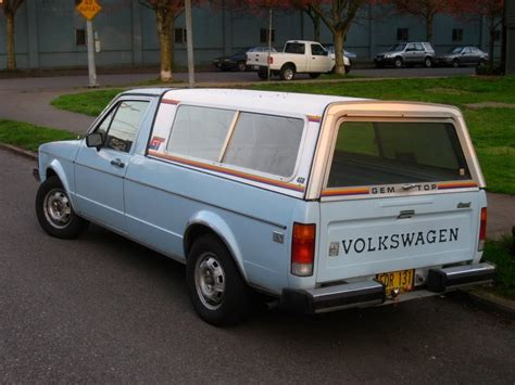old volkswagen rabbit cars of a lifetime 1984 vw diesel pickup old rabbit