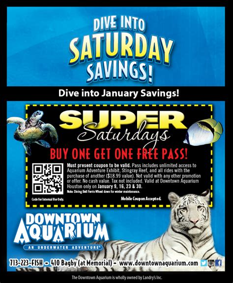 houston aquarium saturdays houston on the cheap