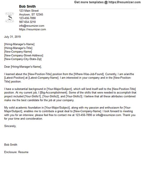 Free Cover Letter Exles by Free Cover Letter Sles 2
