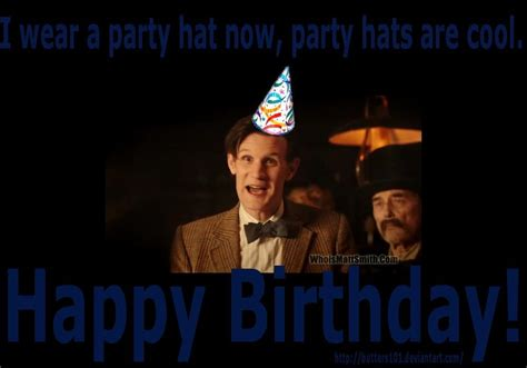 Doctor Who Birthday Meme - happy birthday doctor who quotes quotesgram