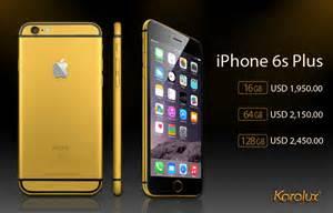 iPhone 6s Gold Plus Price