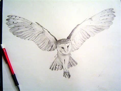 flying barn owl drawing barn owl tattoos ideas proyectos que debo