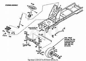 Troy Bilt 13040 18hp Hydro Garden Tractor  S  N