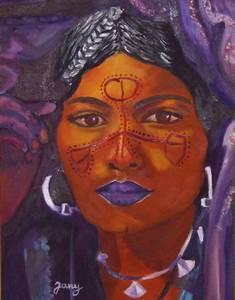 Peinture Visage Femme : peinture visage touareg ~ Melissatoandfro.com Idées de Décoration