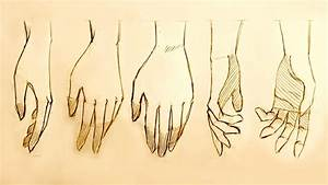 How to Draw Relaxed Hands, 5 Ways - YouTube