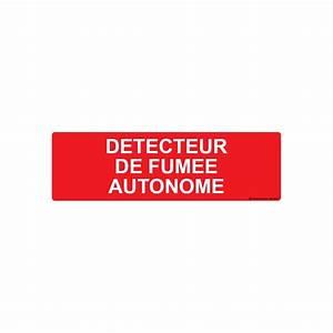Detecteur De Fumée : panneau d tecteur de fum e autonome ~ Melissatoandfro.com Idées de Décoration