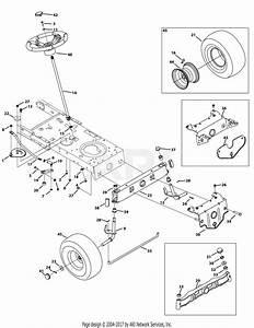 Troy Bilt 13wx78ks011 Bronco  2012  Parts Diagram For