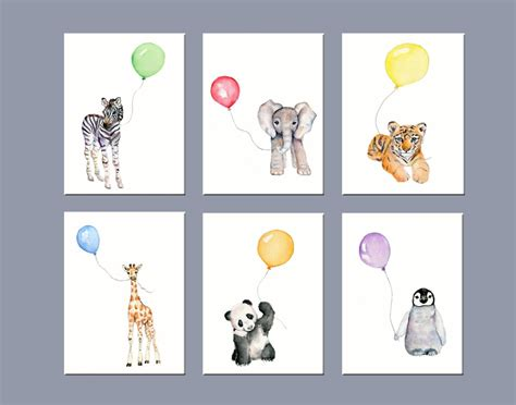 Wandtattoo Kinderzimmer Tiere by 20 Best Collection Of Nursery Animal Wall