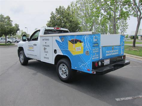 fleet graphics utility truck santa fe springs ca