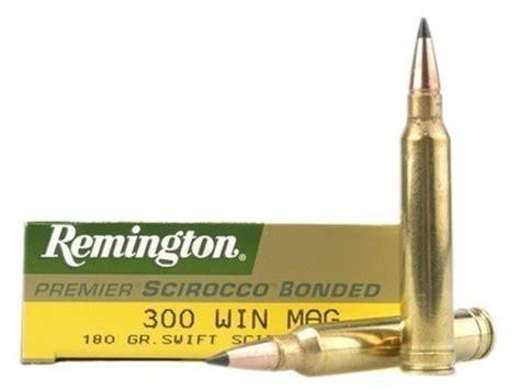 Remington Premier Ammo 300 Winchester Mag 180 Grain Swift