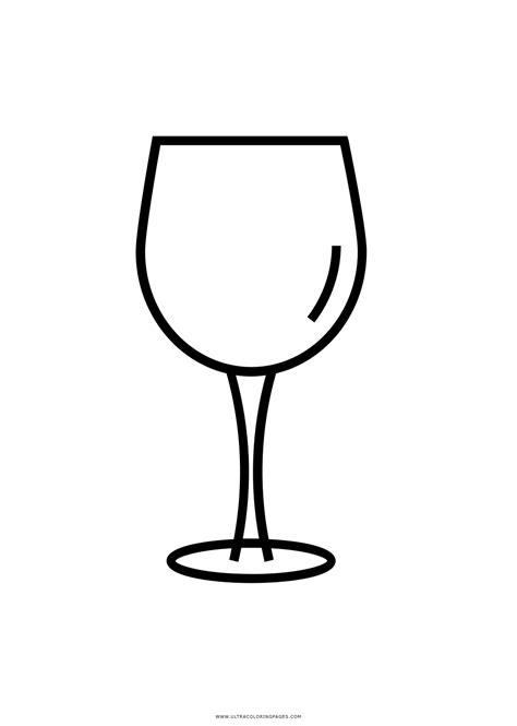 Bicchieri Da Colorare by Calici Disegni Da Colorare Ultra Coloring Pages