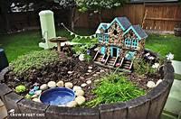 fine fairy garden design 38 Best Reusing Old Wine Barrel Ideas and Designs for 2019