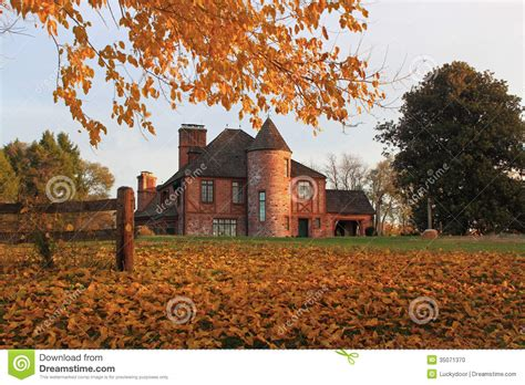 victorian mansion stock photo image