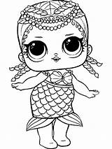 Lol Dolls Coloring Pages Printable Mycoloring sketch template