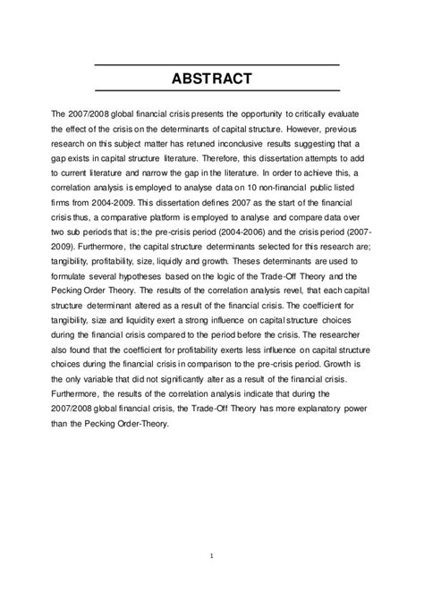 Pay To Write Government Research by Thesis Abstract Exle