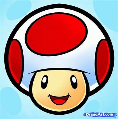 Draw Easy Drawing Toad Drawings Mario Characters