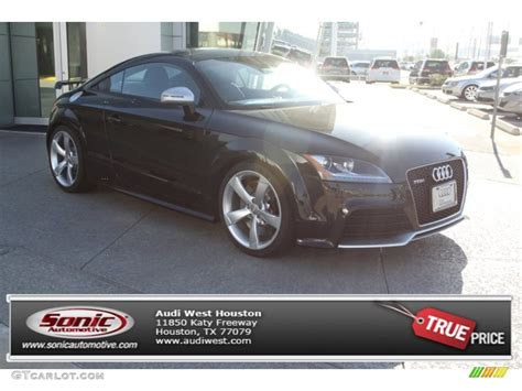 panther black crystal effect audi tt rs quattro coupe