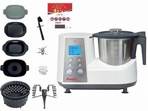 Robot Cuiseur Pas Cher : robot cuiseur kitchen cook cuisio pro v3 robot conforama ~ Premium-room.com Idées de Décoration