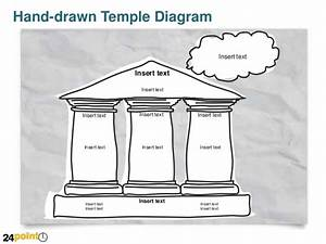 Hand-drawn Temple Diagram