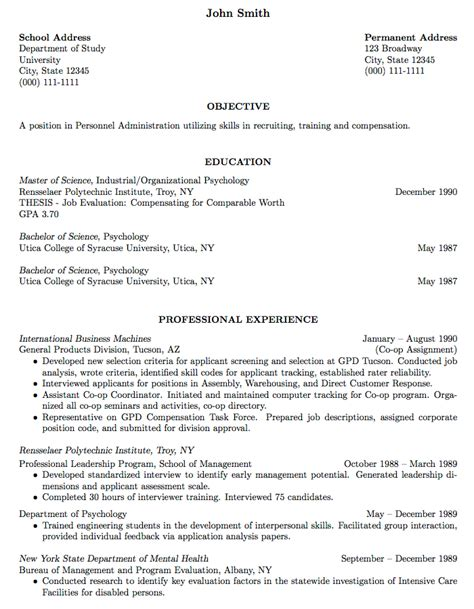 How To Make An Acting Resume Without Experience by Templates 187 Curricula Vitae R 233 Sum 233 S