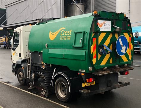 road sweeper services crest industrial services
