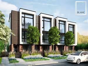 Town House Plans Modern by 25 Best Ideas About Modern Townhouse On