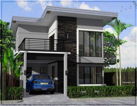 model rumah minimalis  lantai terbaru type  desain
