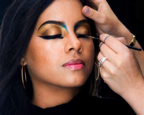 halloween makeup idea cleopatra makeup tutorial