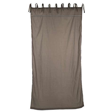 Vorhang Zum Binden by Laursen Vorhang Zum Binden Grau B 130cm X H 245cm