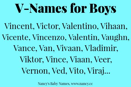 names starting with v letter manandari v names for baby boys nancy s baby names 56323