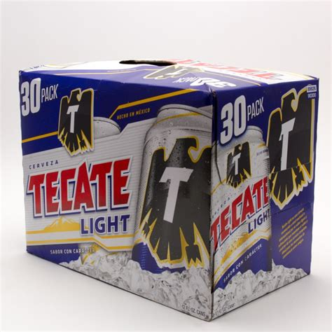 30 rack of coors light tecate light beer 12oz can 30 pack beer wine and