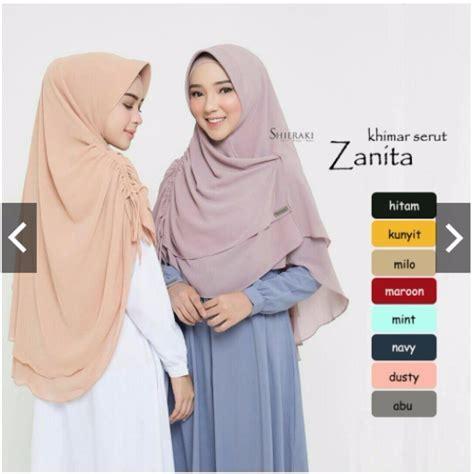 hijab arrafi pashmina instan tutorial hijab terbaru