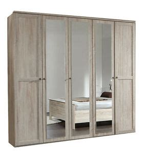 Mirrored Wardrobes For Sale by Sale German Oak Wardrobe 5 Door Large Quality Mirrored